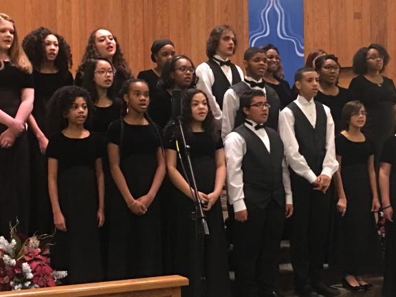 winter choir 2017